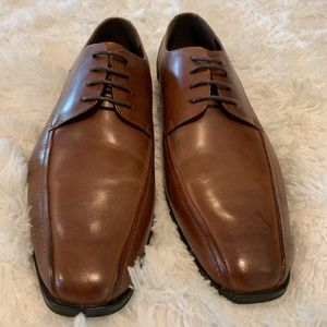 Kenneth Coal Leather Shoes size 10